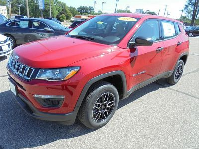 2017 Jeep Compass 4d SUV 4WD Sport (RED)
