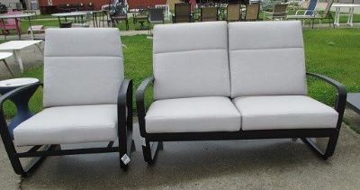 Outdoor Love-seat or Chair, Merchandise Mart Sample