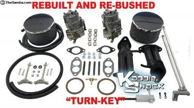 SVDA Kadron Carbs, Turn-Key w/ warranty