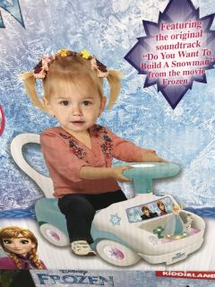 Frozen Magical Adventure Ride-on new in box!