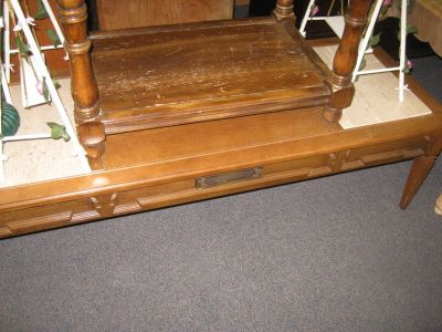 VINTAGE COFFEE TABLE ( REDUCED )