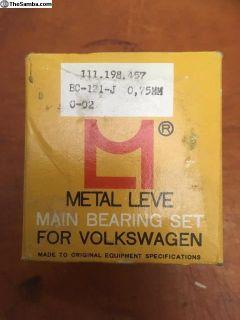 NOS Main Bearing Metal Leve (111 198 457)