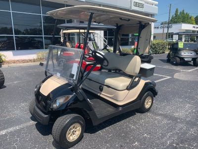 2016 YAHAMA GOLF CART Car CUSTOM PAINT 48 VOLT ELECTRIC TAN/black