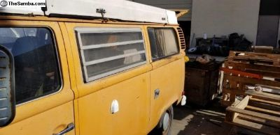 1976 Westy with rebuilt Engine