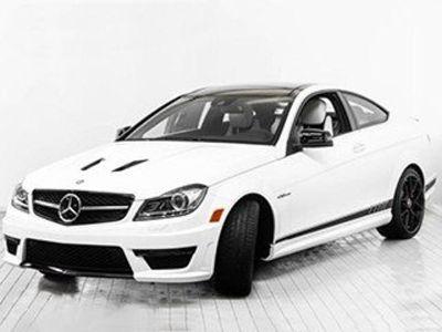2014 Mercedes-Benz C-Class C63 AMG (Polar White)