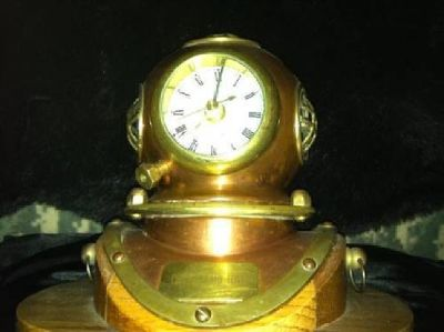 $50 Brass copper diving helmet