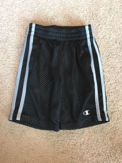 Size 4 black and gray athletic shorts