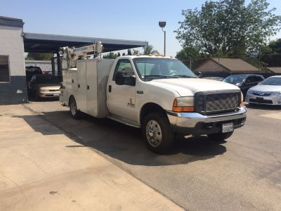 2000 FORD F550 SERVICE TRUCK CONSTRUCTION TRUCKS