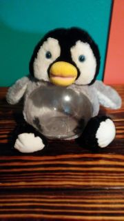 Penguin fish bowl