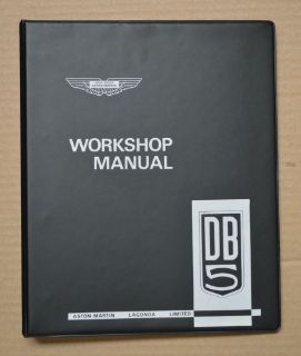 Sell ASTON MARTIN DB5 WORKSHOP MANUAL FACTORY ISSUE BRAND NEW motorcycle in Redding, California, United States, for US $325.75