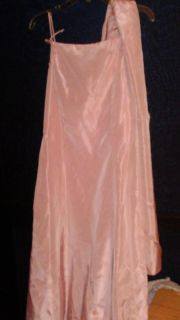 13\14 formal dress with wrap