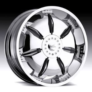 "Buy 22""Millani 455 Chrome Wheels Infinity Lexus Cadillac motorcycle in Victorville, California, US, for US $1,196.00"