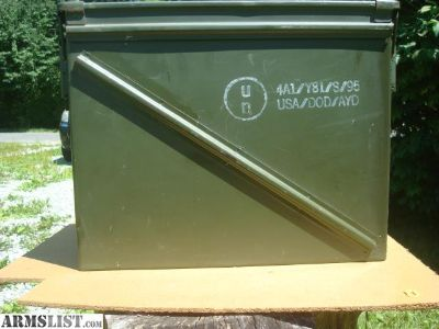 For Sale: For Sale 1 USGI 20mm Ammo Can.