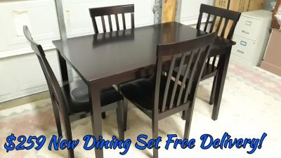 New Dining Set Free Delivery