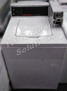 Fair Condition Speed Queen Top Load Washer (White) SWT2A0WN 120v 60Hz 9.8 Amps Used