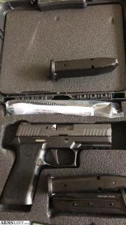 For Sale: Brand new sig p320 x carry