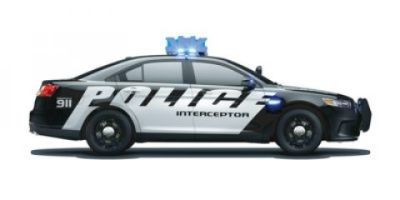 2018 Ford Taurus Police Interceptor (Oxford White)
