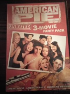 American Pie 3 movie party pack DVDs