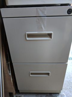 2 Drawer Business Filing Cabinet