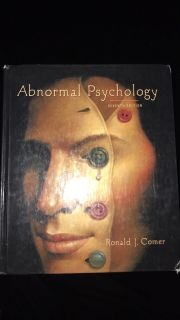 Abnormal Psychology by Ronald J. Comer, 7th Edition