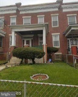 3528 Edmondson Ave Baltimore Four BR, Well loved and maintained