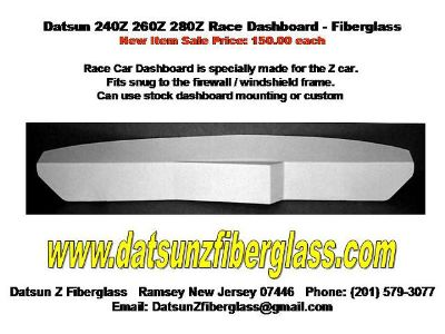 Datsun 240Z 260Z 280Z Race Car Dashboard