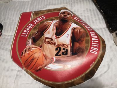LeBron James vinyl decal