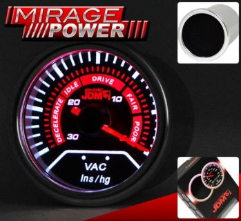 """Purchase 2"""" 52MM VACUUM GAUGE DIAL READING MAZDA 2 3 5 6 MX-5 MIATA SPEED 3 6 CX-5 CX-6 motorcycle in La Puente, California, United States, for US $22.99"""