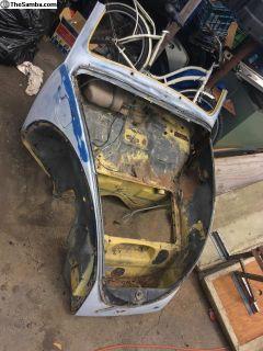 Front Clip Bug 1968 and up dash door pillars