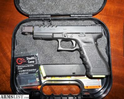 For Sale/Trade: Compensated Glock 17! Middlebranch Machine Primary Machine HYVE Magpul TRUGLO