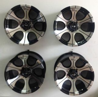 "Buy Set 4 17"" Dick Cepek DC2 6 lug Chevy GMC New Truck Wheels Black Machined 6x5.5 motorcycle in Holt, Michigan, US, for US $750.00"
