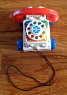 Fisher-Price Chatter Telephone toy for 1 year and older