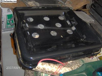 front seat pan