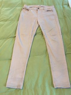 Love fire brand pale pink soft stretchy jeans size 13