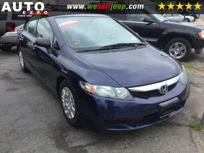 2011 Honda Civic 4dr LX 4WD Auto (Blue)