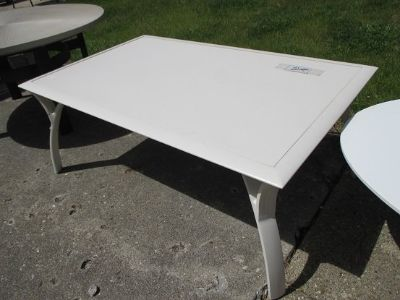 Outdoor, Soft White Coffee Table