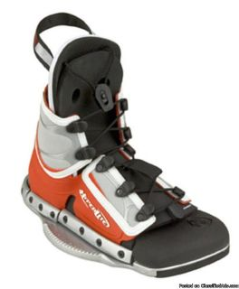 HYPERLITE SPIN WAKEBOARD BINDINGS OPEN TOE KIDS YOUTH