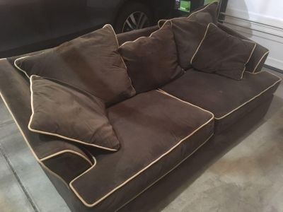 FREE microfiber couch