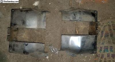 CHROME Cylinder Tins NEW