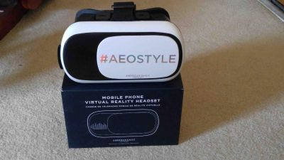Virtual Reality Headset for Cell Phones