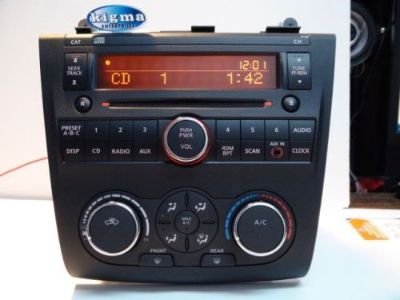 Sell Nissan Altima 2007-2009 CD player PY13B w/Climate Aux none-Bose see TEST VIDEO motorcycle in Philadelphia, Pennsylvania, United States, for US $59.99