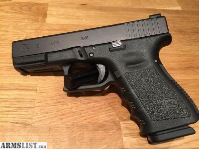 For Sale: Glock 19 gen 3 HD night sight