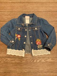 Little Lass 2T blue jean jacket