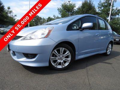 2009 Honda Fit Sport (Blue Sensation Pearl)