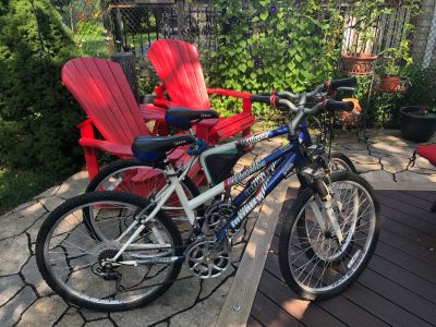 His and hers bikes - Adult 26 bought at Costco