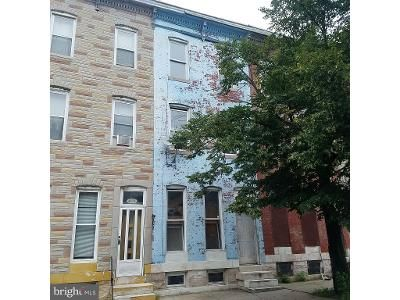 3 Bed 2 Bath Foreclosure Property in Baltimore, MD 21202 - E Biddle St