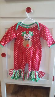 3-6m Christmas outfit