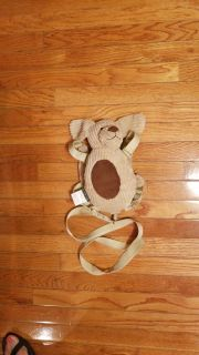 Eddie bauer Puppy harness and backpack