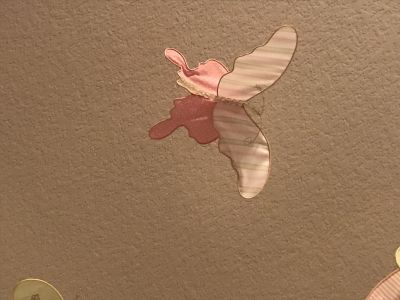 Pottery Barn floating butterfly decorations