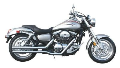 """Purchase Jardine Complete 2 1/4"""" Drag Pipe Full Exhaust Kawasaki Vulcan 1500 96-04 motorcycle in Westerville, Ohio, US, for US $249.99"""